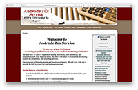 Andrade Services website.